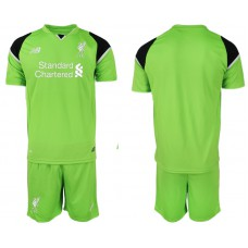 2018-19 Liverpool Green Goalkeeper Soccer Jersey
