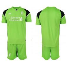 2018-19 Liverpool Green Goalkeeper Soccer Jersey