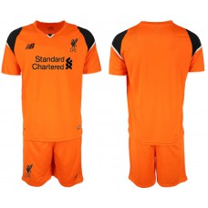 2018-19 Liverpool Orange Goalkeeper Soccer Jersey