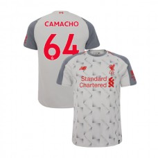 Liverpool 2018-19 Third #64 Rafael Camacho Light Gray Authentic Jersey