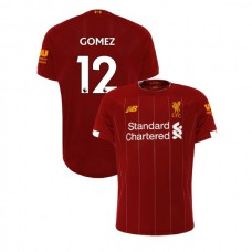 Liverpool 2019-20 #12 Joe Gomez Red Home Authentic Jersey
