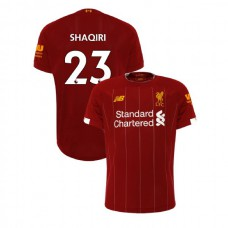 Liverpool 2019-20 #23 Xherdan Shaqiri Red Home Authentic Jersey
