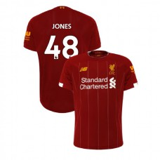 Liverpool 2019-20 #48 Curtis Jones Red Home Authentic Jersey