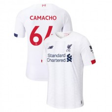 Liverpool 2019-20 #64 Rafael Camacho White Away Authentic Jersey