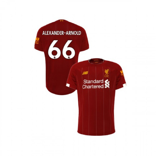 Youth Liverpool 2019-20 Home #66 Trent Alexander-Arnold Red Authentic Jersey